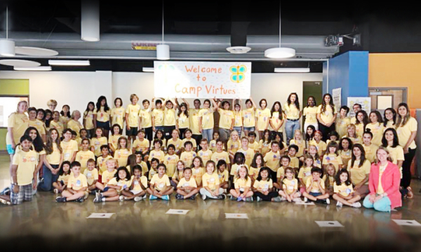 Campers-2Rows; 2018CampVirtues; Group ...